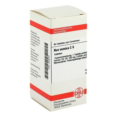 NUX VOMICA C 6 Tabletten 80 Stück N1