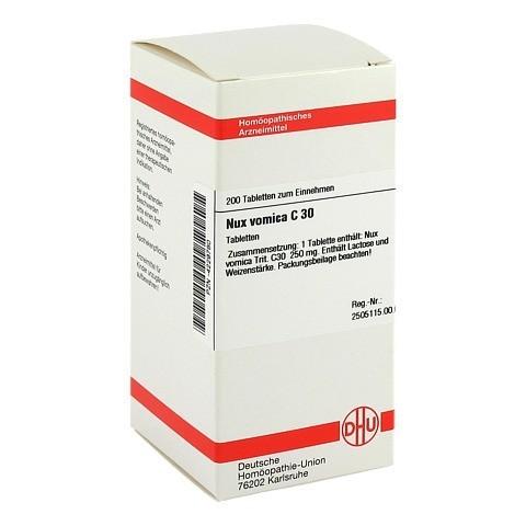 NUX VOMICA C 30 Tabletten 200 Stück