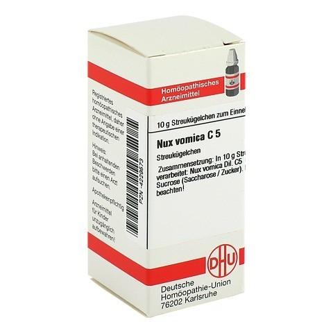 NUX VOMICA C 5 Globuli 10 Gramm N1