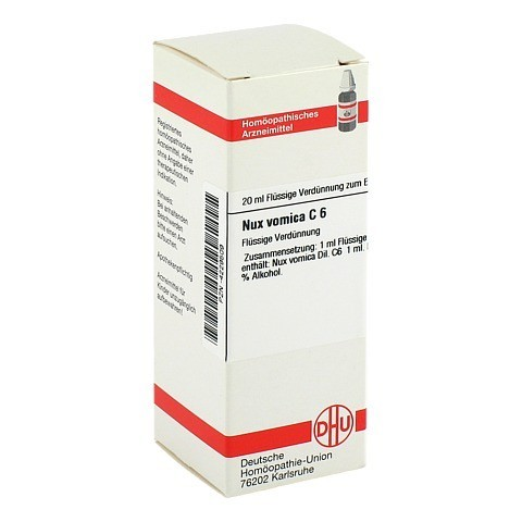 NUX VOMICA C 6 Dilution 20 Milliliter N1