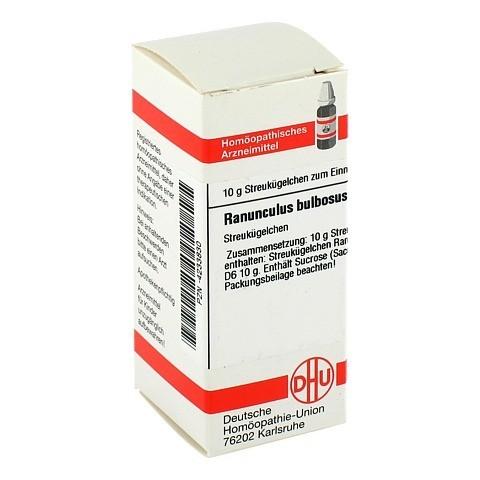 RANUNCULUS BULBOSUS D 6 Globuli 10 Gramm N1