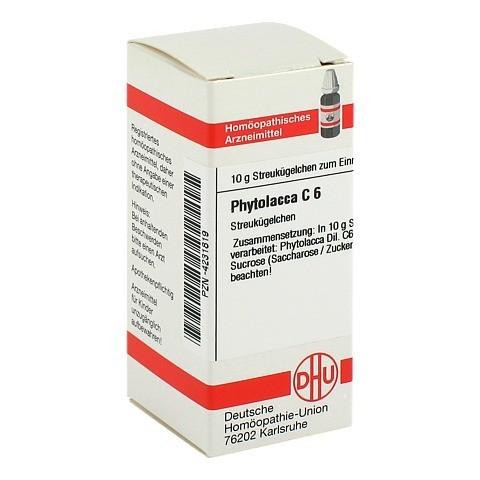PHYTOLACCA C 6 Globuli 10 Gramm N1