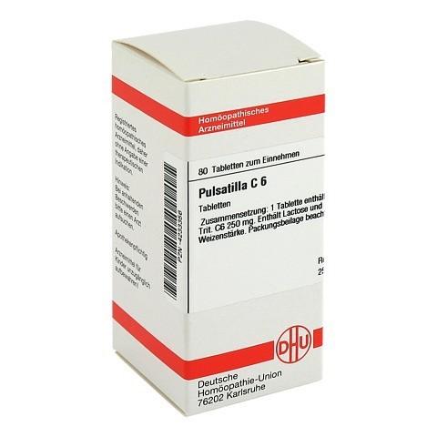 PULSATILLA C 6 Tabletten 80 Stück N1
