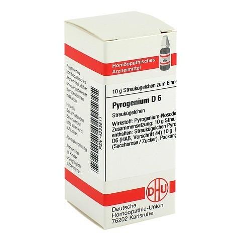 PYROGENIUM D 6 Globuli 10 Gramm N1