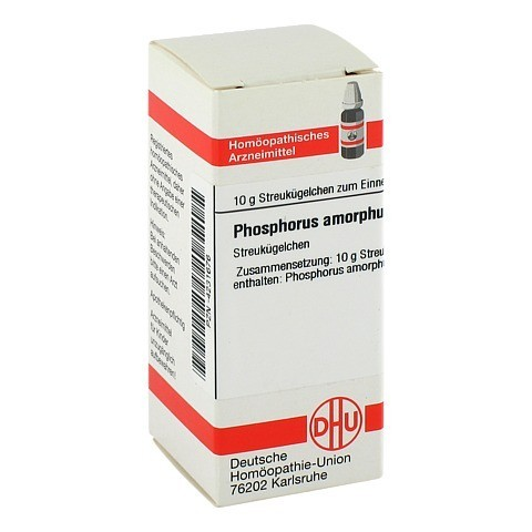 PHOSPHORUS AMORPHUS C 30 Globuli 10 Gramm N1