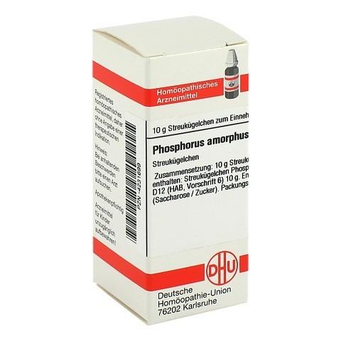 PHOSPHORUS AMORPHUS D 12 Globuli 10 Gramm N1