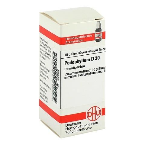 PODOPHYLLUM D 30 Globuli 10 Gramm N1