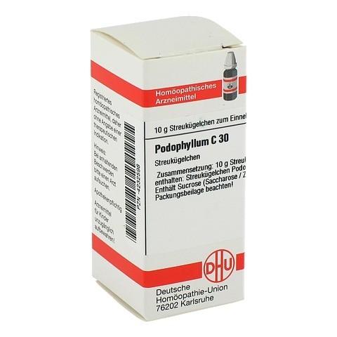 PODOPHYLLUM C 30 Globuli 10 Gramm N1