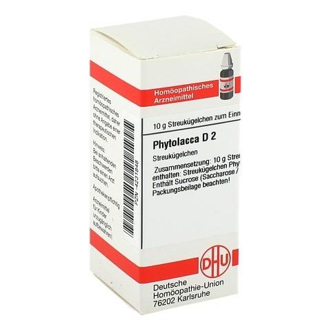 PHYTOLACCA D 2 Globuli 10 Gramm N1