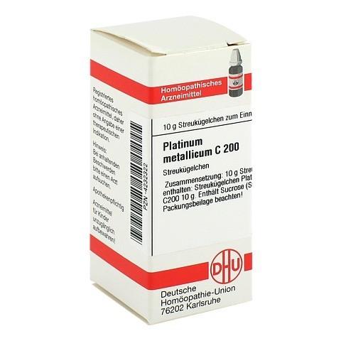 PLATINUM METALLICUM C 200 Globuli 10 Gramm N1