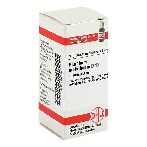 PLUMBUM METALLICUM D 12 Globuli 10 Gramm N1