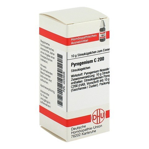 PYROGENIUM C 200 Globuli 10 Gramm N1
