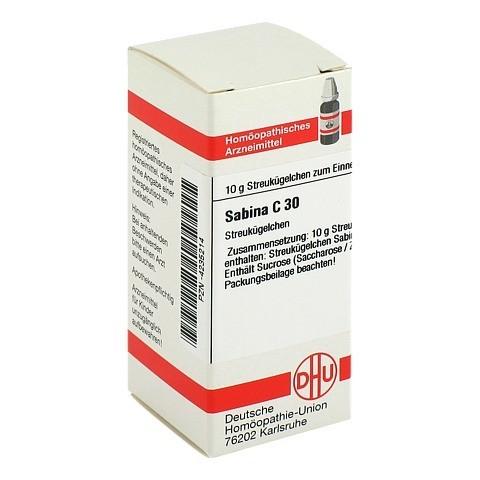 SABINA C 30 Globuli 10 Gramm N1