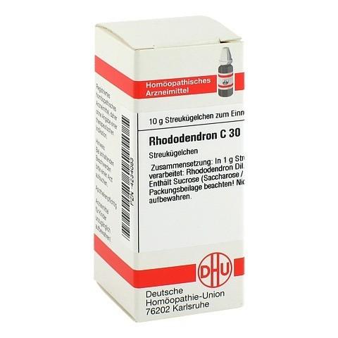 RHODODENDRON C 30 Globuli 10 Gramm N1