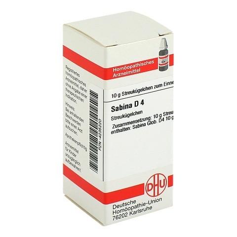 SABINA D 4 Globuli 10 Gramm N1