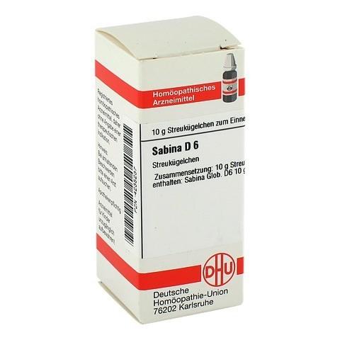 SABINA D 6 Globuli 10 Gramm N1