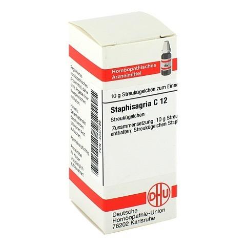 STAPHISAGRIA C 12 Globuli 10 Gramm N1