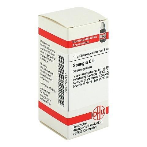 SPONGIA C 6 Globuli 10 Gramm N1