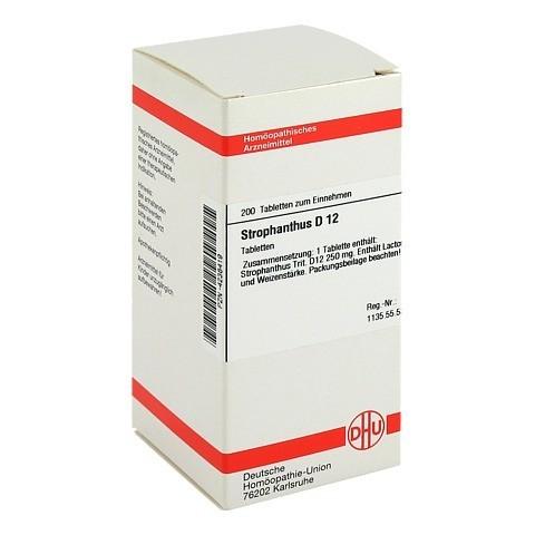 STROPHANTHUS D 12 Tabletten 200 Stück N2