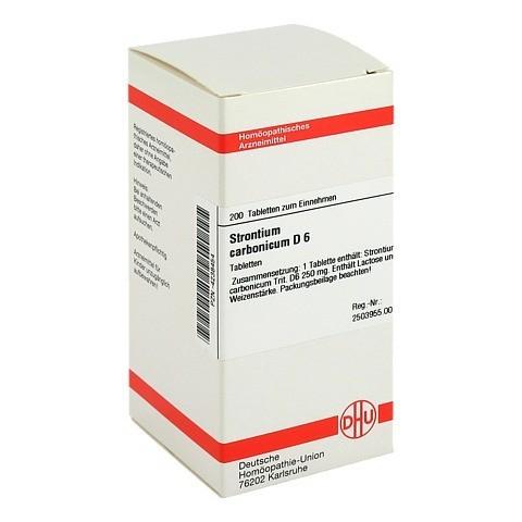 STRONTIUM CARBONICUM D 6 Tabletten 200 Stück N2