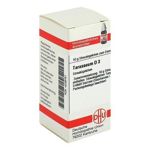 TARAXACUM D 3 Globuli 10 Gramm N1