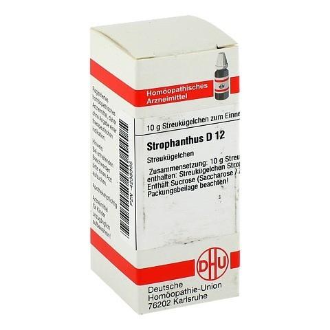STROPHANTHUS D 12 Globuli 10 Gramm N1