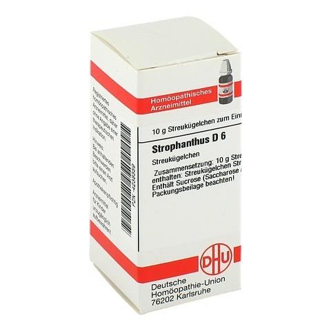 STROPHANTHUS D 6 Globuli 10 Gramm N1