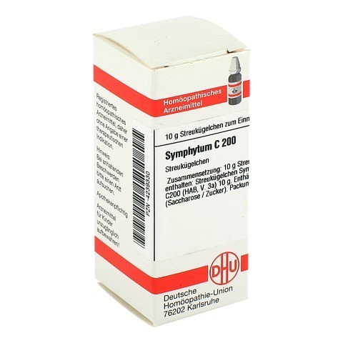 SYMPHYTUM C 200 Globuli 10 Gramm N1