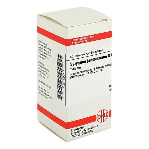 SYZYGIUM JAMBOLANUM D 6 Tabletten 80 Stück N1