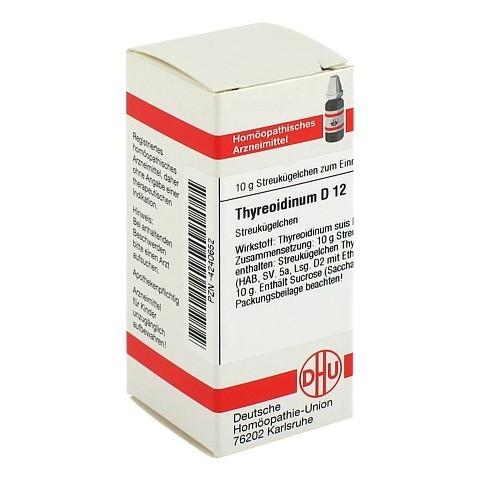 THYREOIDINUM D 12 Globuli 10 Gramm N1