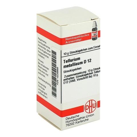 TELLURIUM metallicum D 12 Globuli 10 Gramm N1