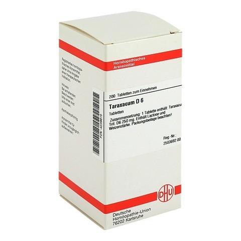 TARAXACUM D 6 Tabletten 200 Stück N2