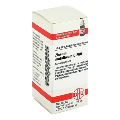 ZINCUM METALLICUM C 200 Globuli 10 Gramm N1