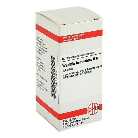 WYETHIA HELENIOIDES D 6 Tabletten 80 Stück N1