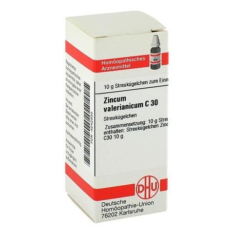 ZINCUM VALERIANICUM C 30 Globuli 10 Gramm N1