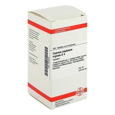 CUPRUM OXYDATUM nigrum D 4 Tabletten 200 Stück N2