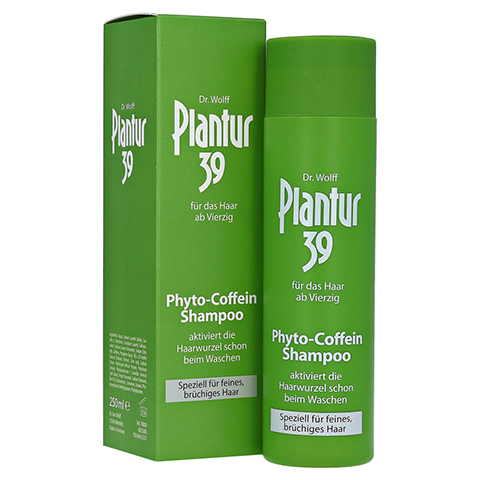 PLANTUR 39 Coffein Shampoo 250 Milliliter