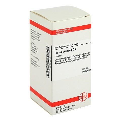 PANAX GINSENG D 2 Tabletten 200 Stück N2