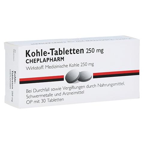 Kohle-Tabletten 250mg 30 Stück