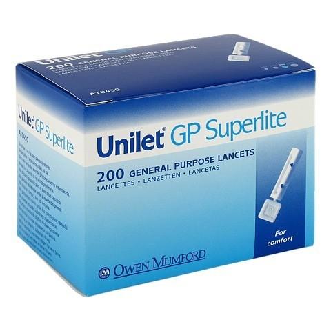 UNILET GP Superlite Lanzetten 200 Stück