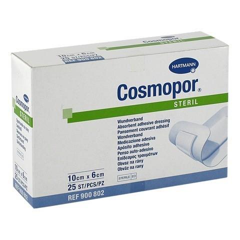 COSMOPOR steril 6x10 cm 25 Stück