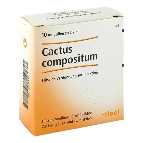 CACTUS COMPOSITUM Ampullen 10 Stück N1