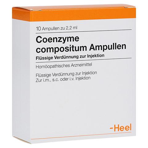 COENZYME COMPOSITUM Ampullen 10 Stück