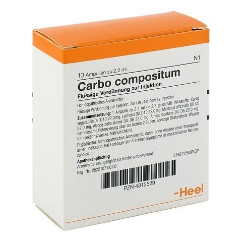 CARBO COMPOSITUM Ampullen 10 Stück N1