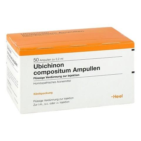 UBICHINON comp.Ampullen 50 Stück