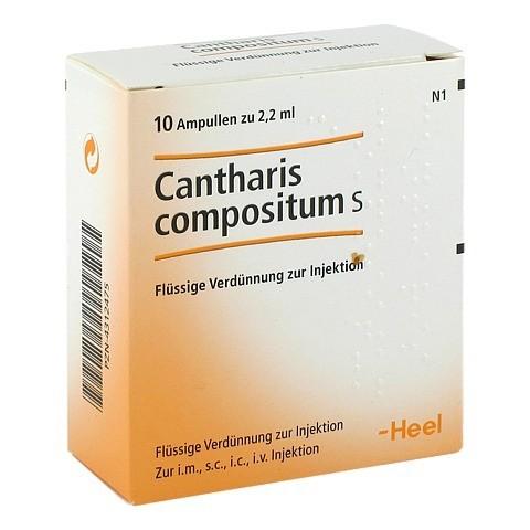 CANTHARIS COMPOSITUM S Ampullen 10 Stück N1