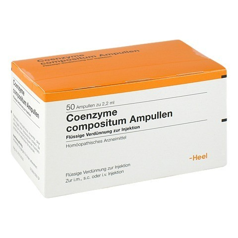 COENZYME COMPOSITUM Ampullen 50 Stück