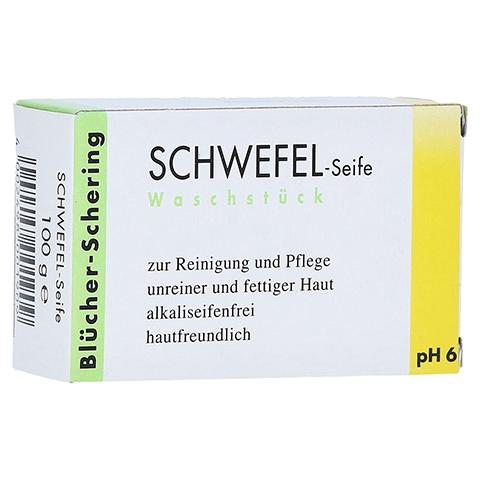 SCHWEFEL SEIFE Blücher Schering 100 Gramm