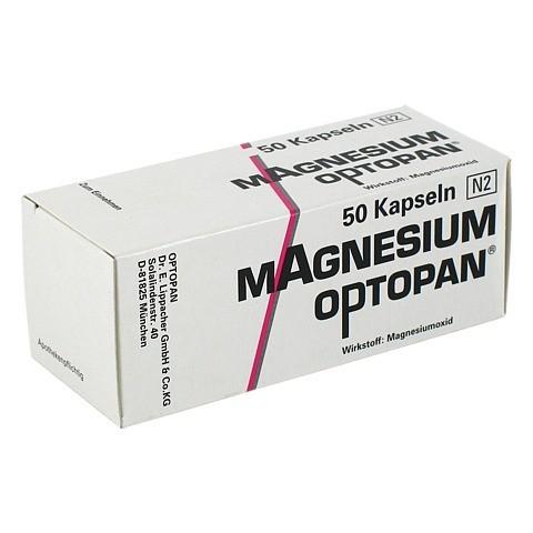 MAGNESIUM OPTOPAN Kapseln 50 Stück N2