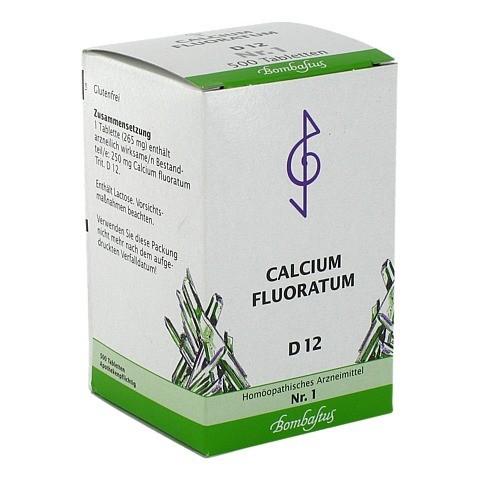 BIOCHEMIE 1 Calcium fluoratum D 12 Tabletten 500 Stück N3